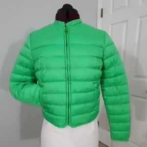 NWOT Crop-Top puffer jacket from GAP Size XS